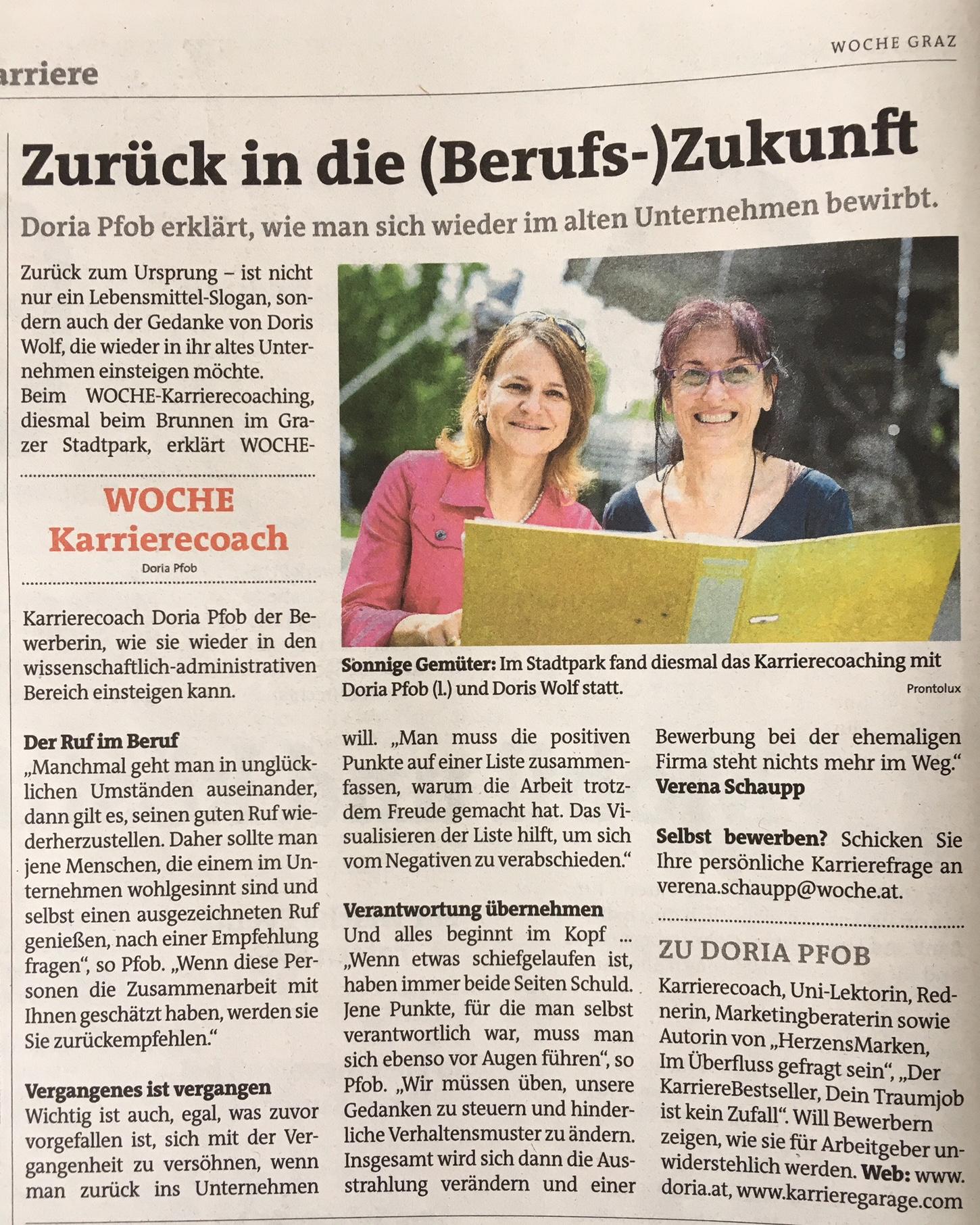 Woche Graz Stadtpark Pfob